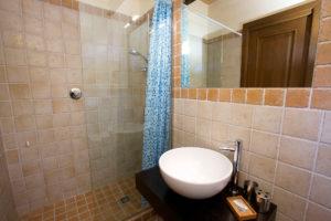Bagno doccia appartamento Lavanda
